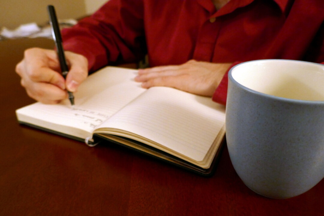 Journaling can help organize your life