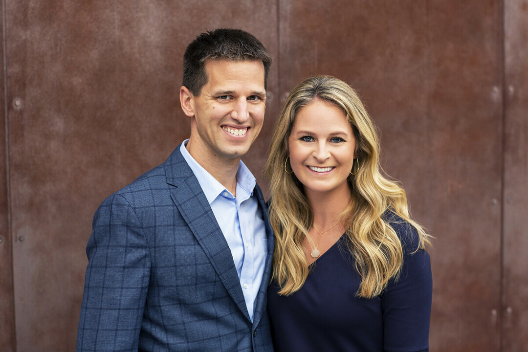 "Husband-and-wife team Drs. Matt Larson and Katie Miettunen Larson run Larson Orthodontic Specialists together – a rare opportunity for them to be partners in business and life. ""We really wanted to do this together,"" says Dr. Katie."